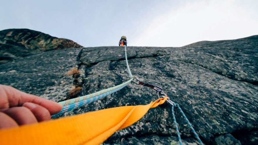 Image abseiling get out of business debt